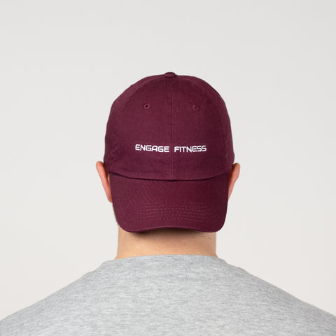 Dad Hat Maroon