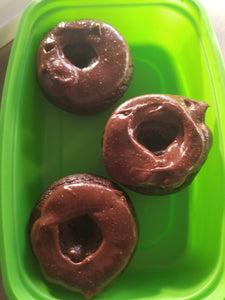 Chocolate Protein Donut  best meal delivery