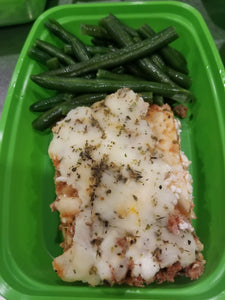 Turkey Lasagna with Green Beans