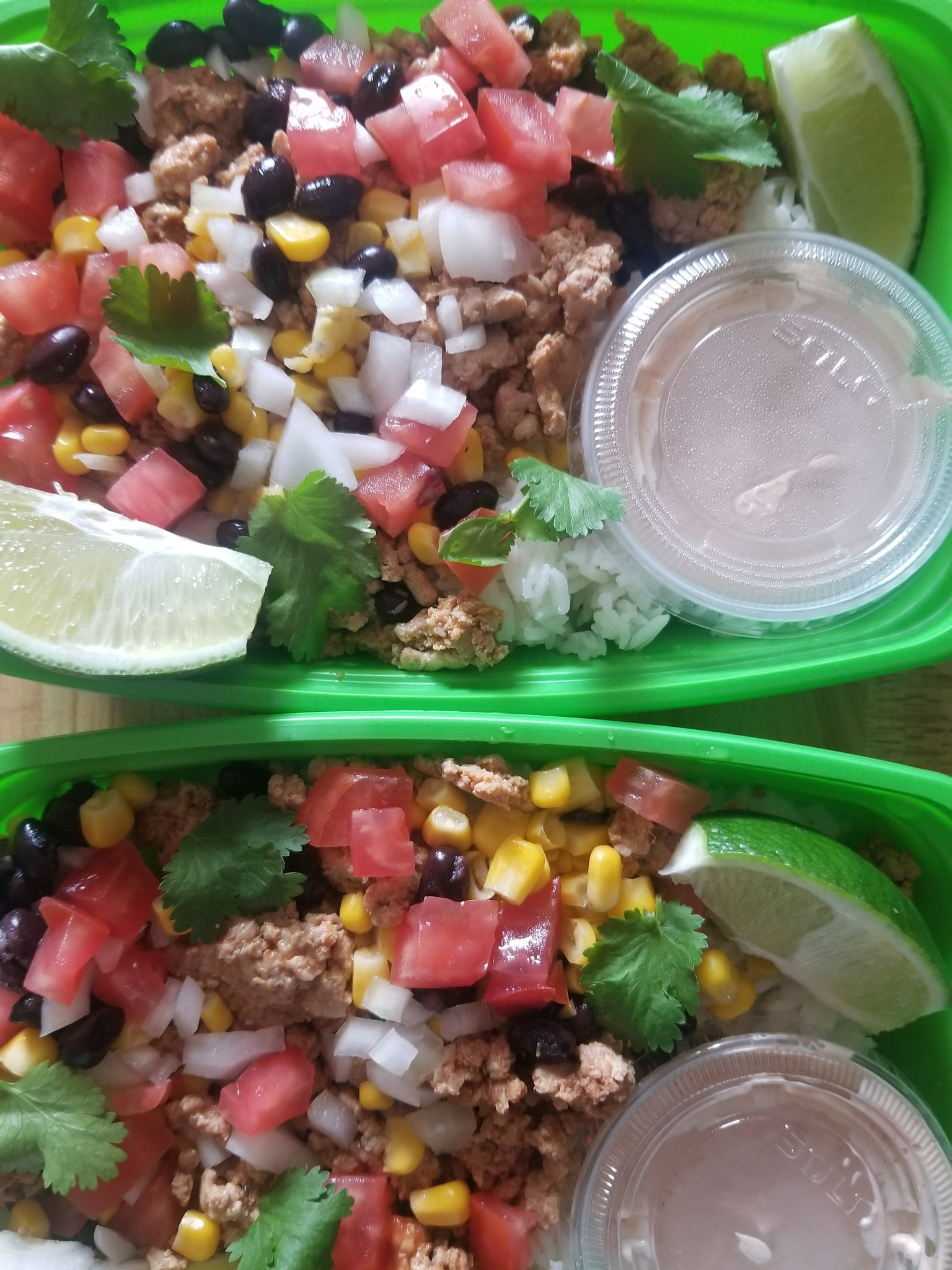 gourmet taco bowl  best meal delivery