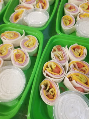 ham and cheddar pinwheels  best meal delivery