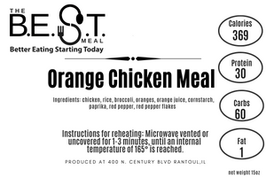 orange chicken meal nutrition label best meal delivery