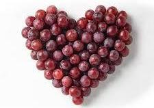 grapes in a heart shape  best meal delivery