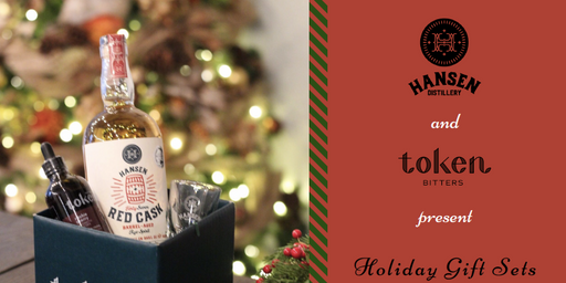 Hansen Distillery and Token Bitters present Holiday Gift Sets
