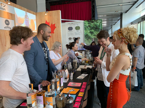 Keenan from Token Bitters, Hansen Distillery and Strathcona Spirits at the Tokyo Bar Show