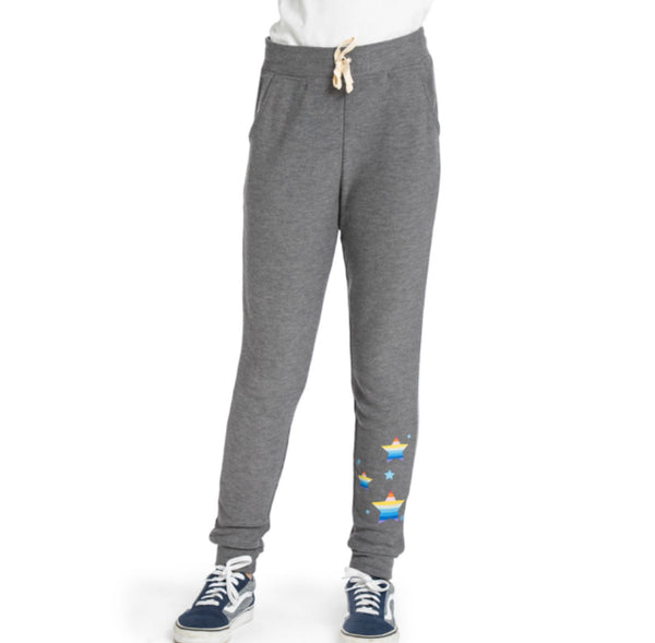 "AVA Buttery soft Multi-Color ""STAR"" Jogger pant"