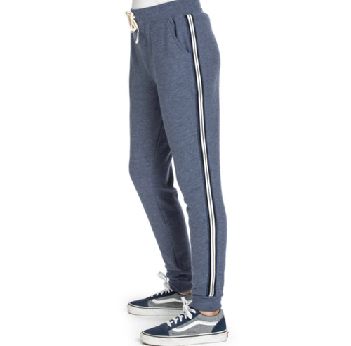 AVA Buttery soft Glitter Side Taping Jogger pant