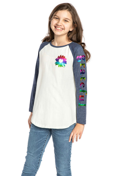 Long sleeve top for tweens - cute top for girls - Christian clothing