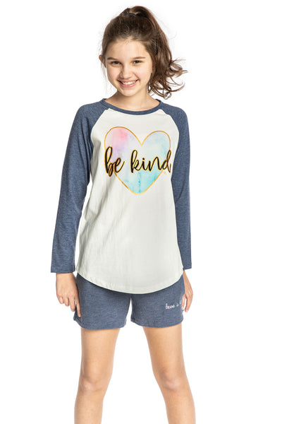 Long sleeve Baseball top for girls - top for tweens - Christian clothing
