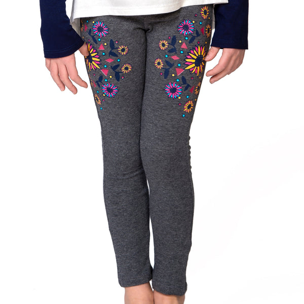 CANDY Mirror-Image Floral graphic legging