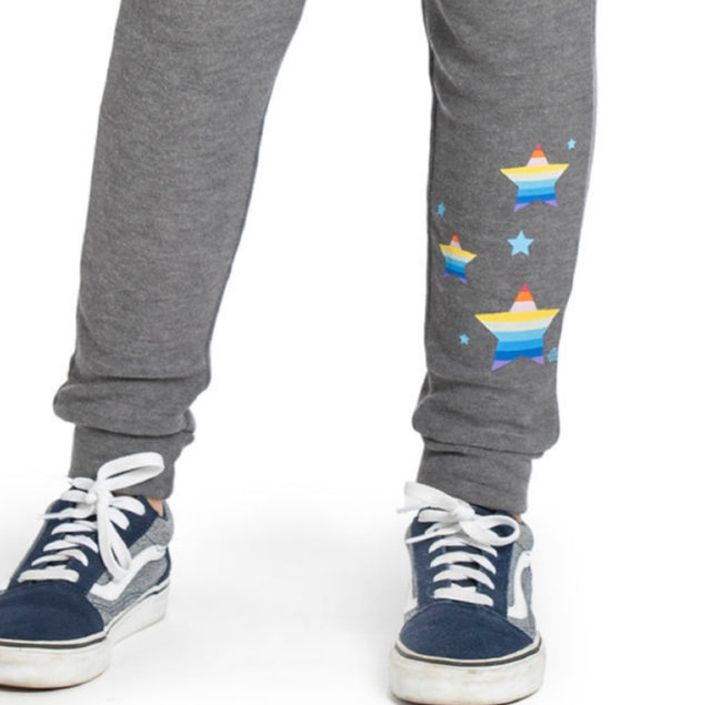 "AVA Buttery soft Multi-Color ""STAR"" Jogger pant - Fashion X Faith"