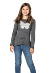 Cute long sleeve top for girls