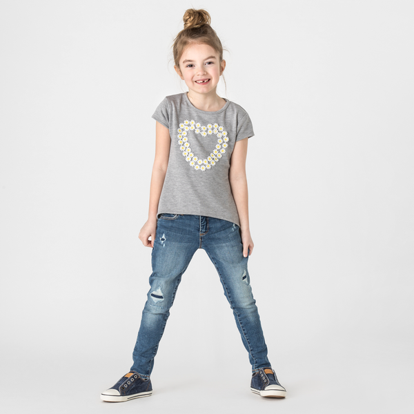 SHELBY Daisy Heart Top - Fashion X Faith