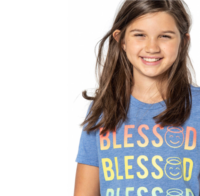 "JILL ""Bless😇d"" Graphic Tee - Fashion X Faith"
