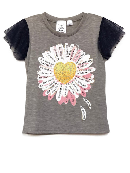 Daisy top for girls
