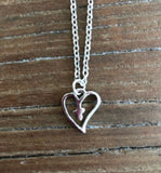 Heart & Cross silver Necklace - Fashion X Faith