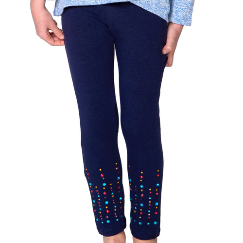 CANDY Multi-Color Rhinestone Legging - Fashion X Faith