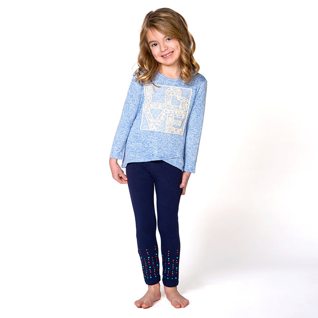 Christian shirt for girls with Lace Love