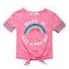 Rainbow Hope top for girls