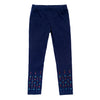 Rhinestone leggings for girls