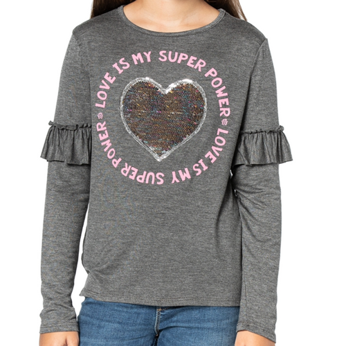 MARIANNE Flip Sequin / Love Is My Superpower