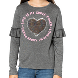 MARIANNE Flip Sequin / Love Is My Superpower - Fashion X Faith