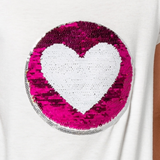PIPER Flip Sequin Emoji and Heart - Fashion X Faith