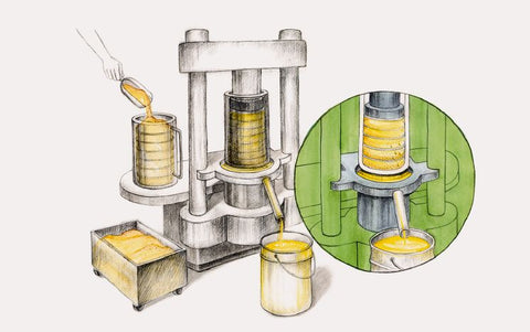 cold pressed oils process and difference from chemically expelled oil