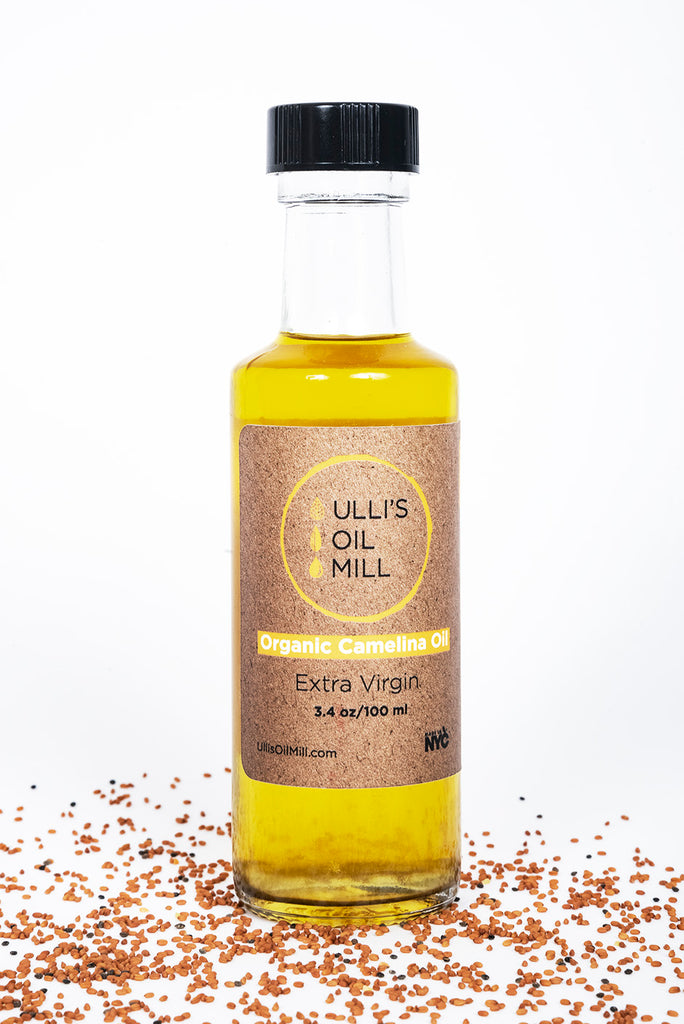 Organic Cold-Pressed Camelina Oil