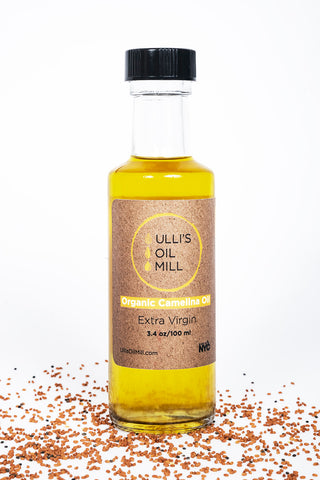 ulli's oil mill organic cold-pressed camelina oil