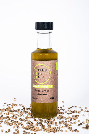Organic Cold-Pressed Hemp Seed Oil