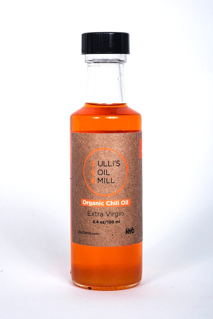 Organic Cold-Pressed Sunflower-Chili Oil