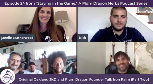 EP24 Original Oakland JKD and Plum Dragon Founder Talk Iron Palm (Part Two)