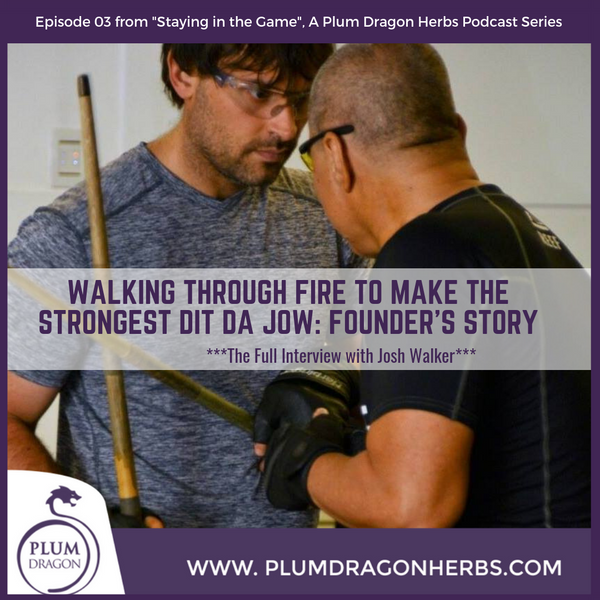 Josh Walker, Founder of Plum Dragon Herbs