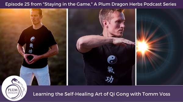 EP25 Learning the Self-Healing Art of Qi Gong with Tomm Voss