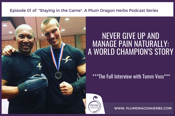 Manage Pain Naturally: A World Champion's Story