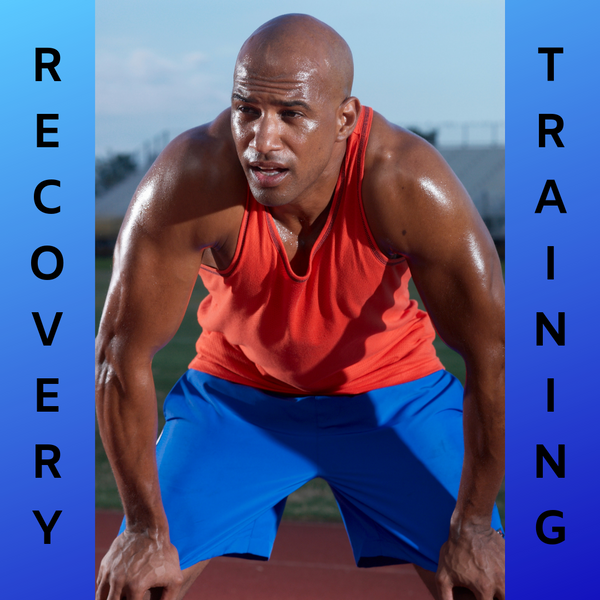 Athlete in recovery training