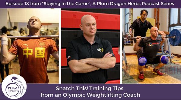 EP18 Snatch This! Training Tips from an Olympic Weightlifting Coach