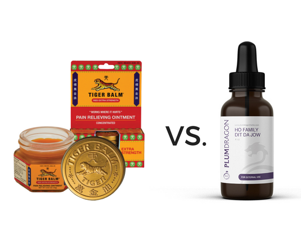 Tiger Balm®™ vs. Dit Da Jow – Ingredients