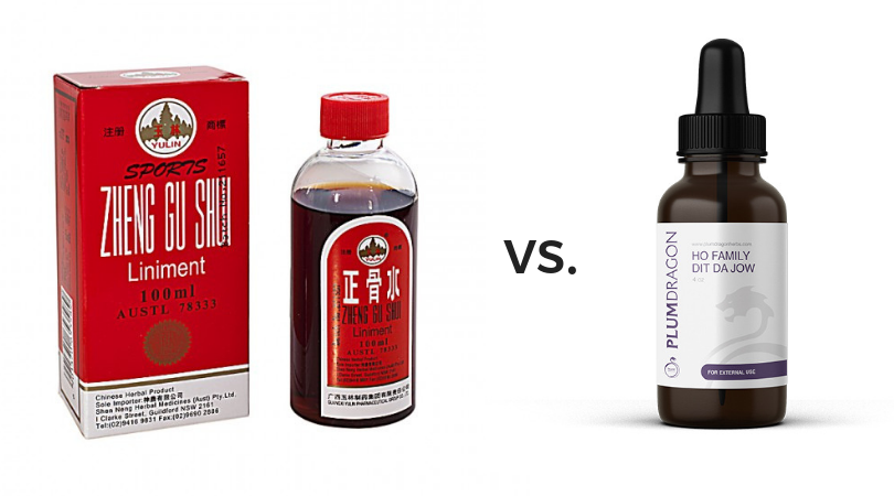 Zheng Gu Shui Ingredients vs. Dit Da Jow: Which is Best for Injury and Pain?