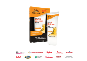 Tiger Balm Neck and Shoulder Ingredients