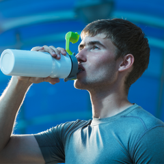athlete drinking water, importance of hydration