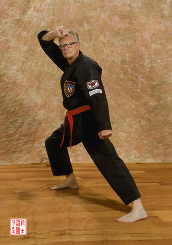 Senior Martial Arts Black Belt Uses Dit Da Jow for Makiwara Training