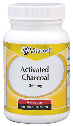 Activated Charcoal Capsules, 90 Caps