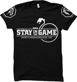 "Plum Dragon ""Stay in the Game"" T-Shirt"