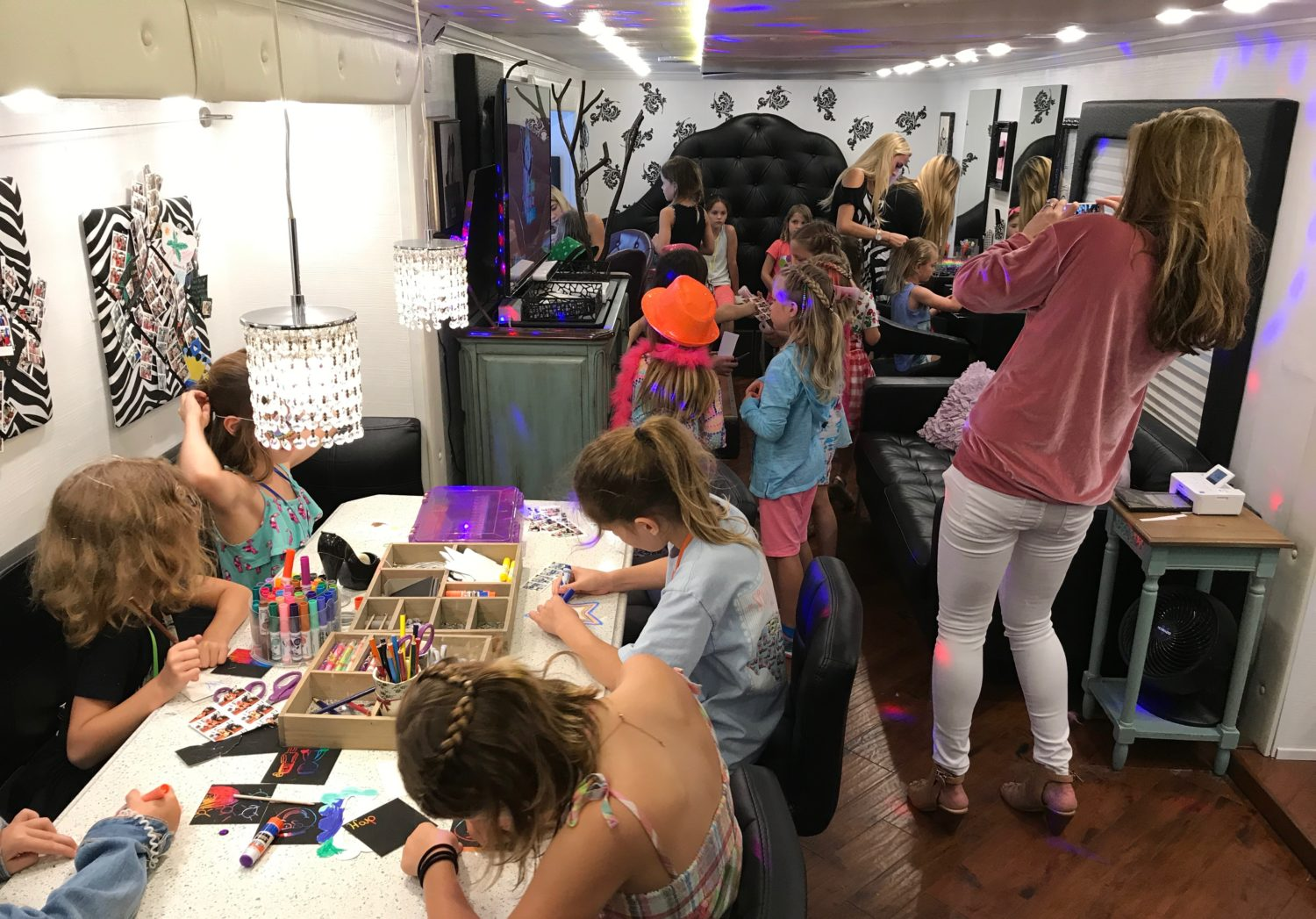 Have Makeup. Will Travel. How About Hosting Your Next Party On A Real Bus