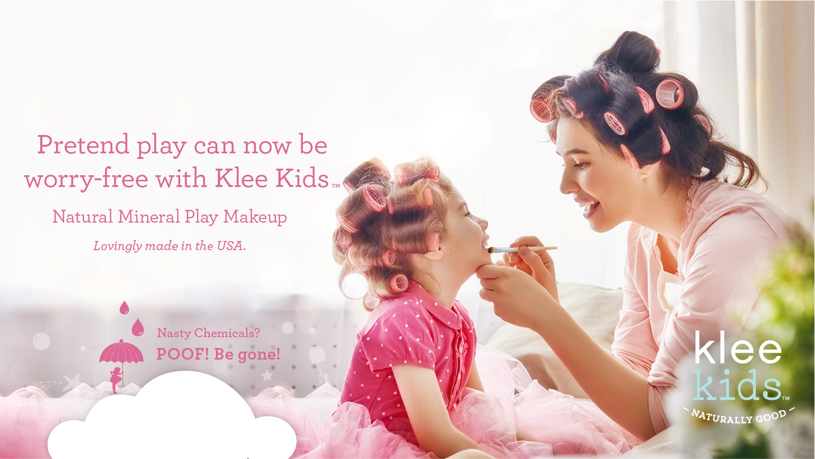 Klee Kids Natural Mineral Play Makeup - Made in USA - Klee