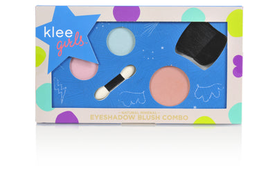 Times Square Flair - Klee Girls Natural Mineral Eyeshadow and Blush Combo Palette