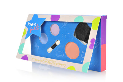 Central Park Rock - Klee Girls Natural Mineral Eyeshadow and Blush Combo Palette