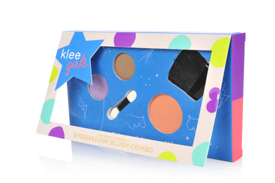 Park Slope Gallop - Klee Girls Natural Mineral Eyeshadow and Blush Combo Palette